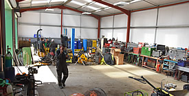 KJ Hire Plant Workshop Servicing