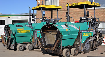 Road surfacing plant hire