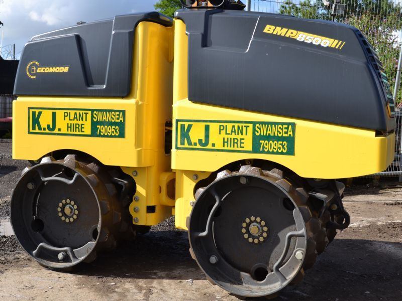 Bomag BMP 8500 Twin Drum Trench Roller